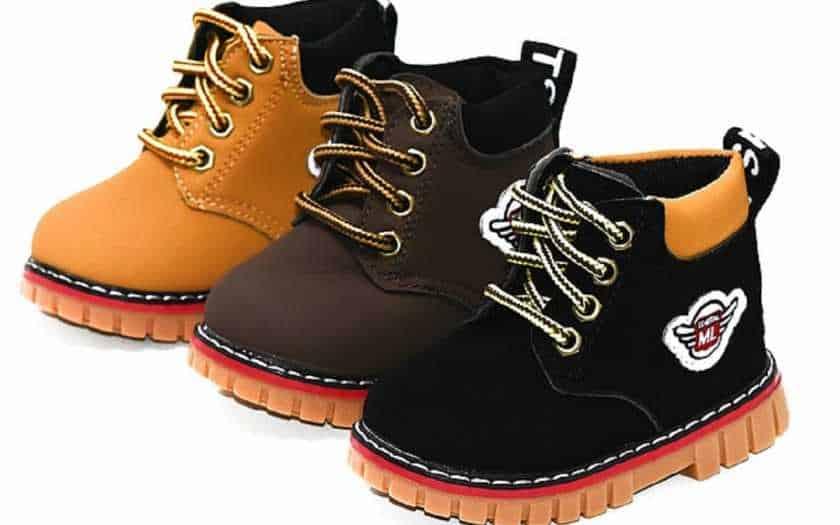 Como encolher o sapato ideal para uma criança