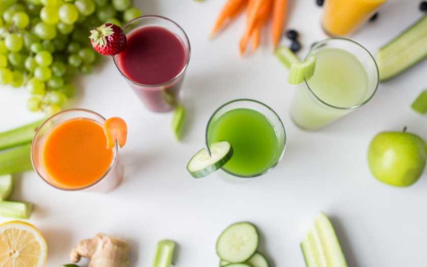 produtos essenciais para você preparar sucos naturais em casa