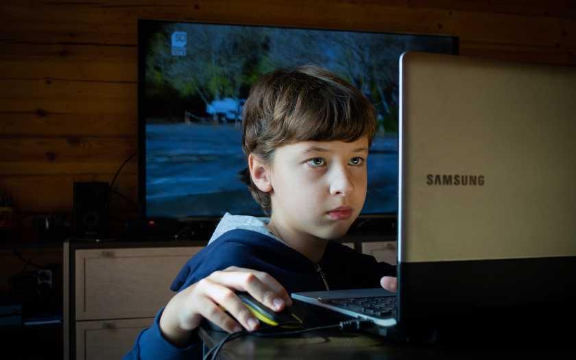 Crianças modernas